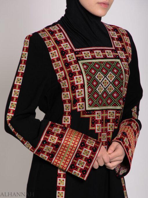 Rashida Embroidered Palestinian Fellaha Thobe th762 (7)