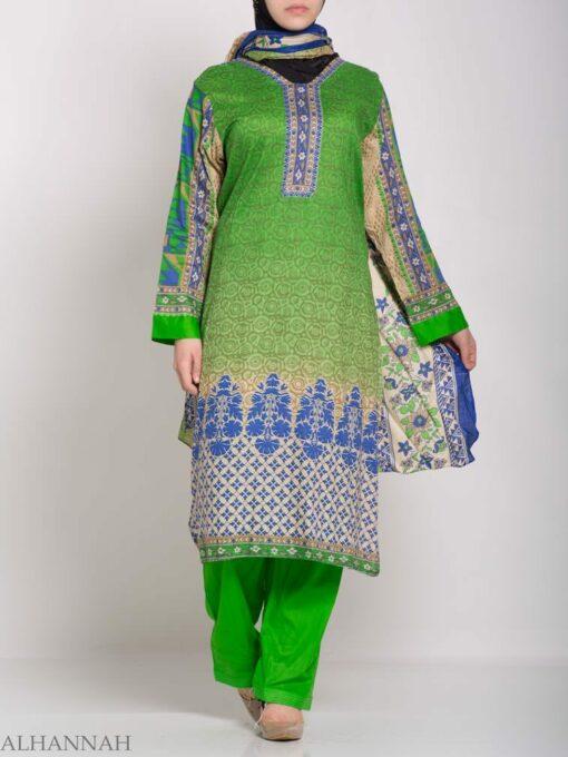 Ruwaydah Salwar Kameez - Premium Lawn Cotton sk1234 (8)