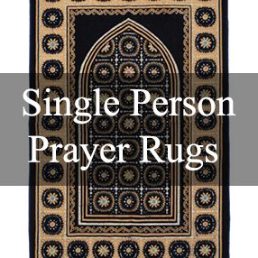 Single Person Prayer Rugs