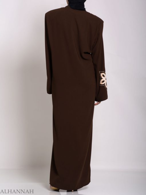 Traditional Egyptian Thobe with Contrasting Applique th729 (9)