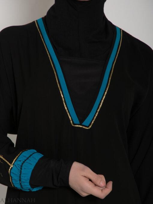 Womens Tailored Jordanian Abaya ab574 (3)