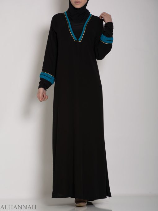 Womens Tailored Jordanian Abaya ab574 (4)