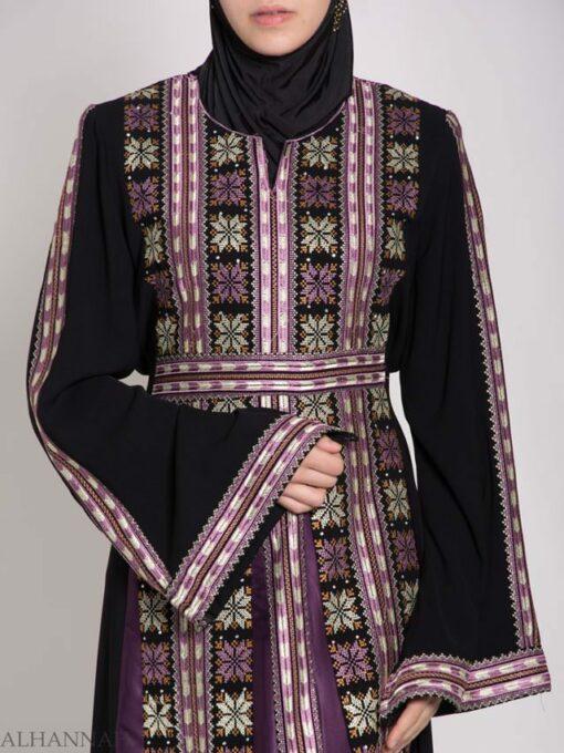 Yasmin Embroidered Palestinian Fellaha Thobe th767 (4)