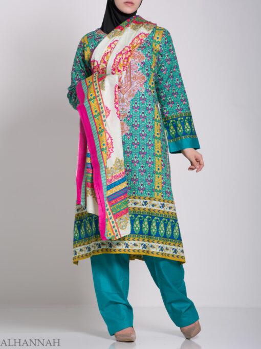 Zahrah Salwar Kameez - Premium Cotton sk1230 (10)