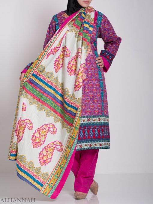 Zahrah Salwar Kameez - Premium Cotton sk1230 (12)