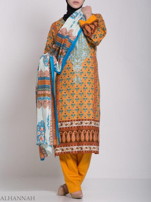 Zahrah Salwar Kameez - Premium Cotton sk1230 (2)