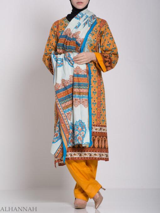 Zahrah Salwar Kameez - Premium Cotton sk1230 (4)