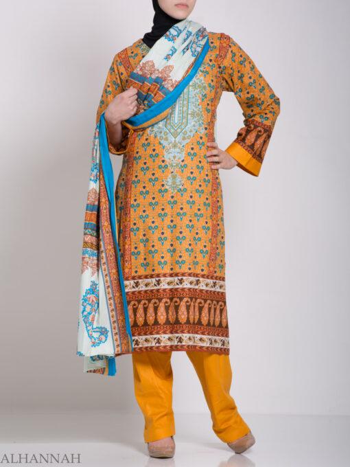Zahrah Salwar Kameez - Premium Cotton sk1230 (5)