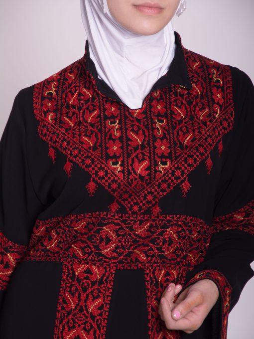 Zainab Embroidered Palestinian Fellaha Dress th760 (1)