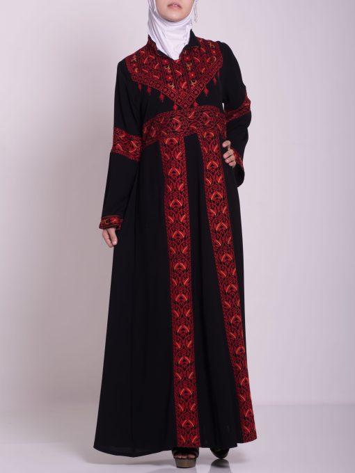 Zainab Embroidered Palestinian Fellaha Dress th760 (10)