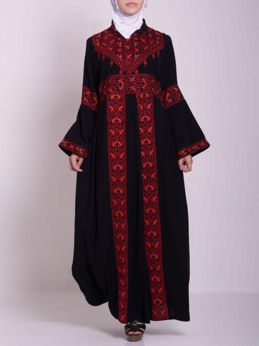 Zainab Embroidered Palestinian Fellaha Dress th760 (12)