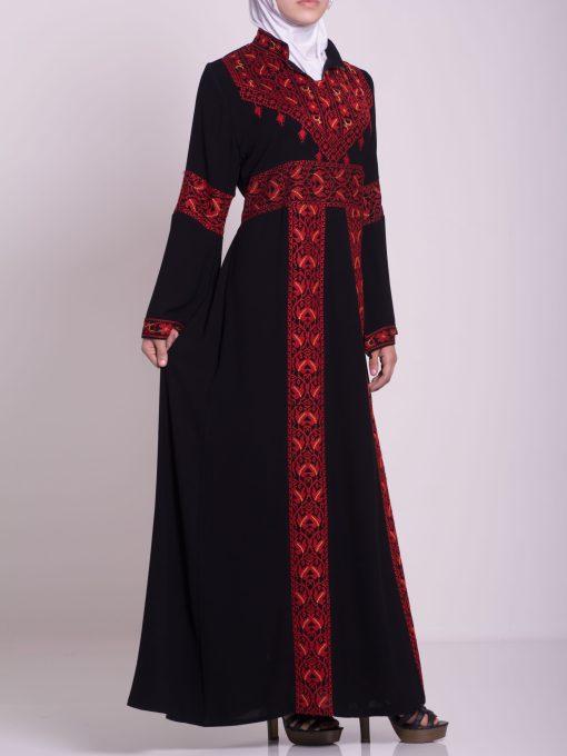 Zainab Embroidered Palestinian Fellaha Dress th760 (15)