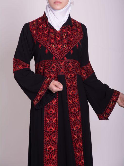 Zainab Embroidered Palestinian Fellaha Dress th760 (16)