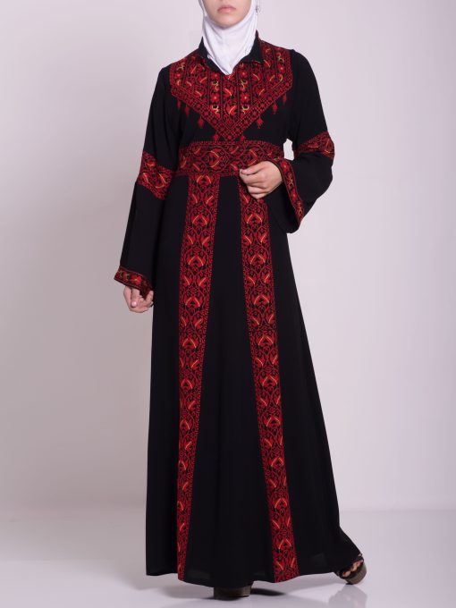 Zainab Embroidered Palestinian Fellaha Dress th760 (6)
