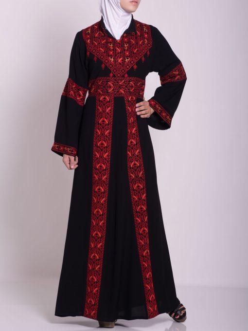 Zainab Embroidered Palestinian Fellaha Dress th760 (8)