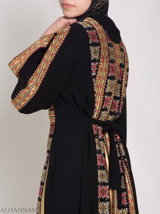 Zaynah Embroidered Palestinian Fellaha Thobe th769 (7)