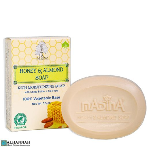 Halal Honey & Almond Soap