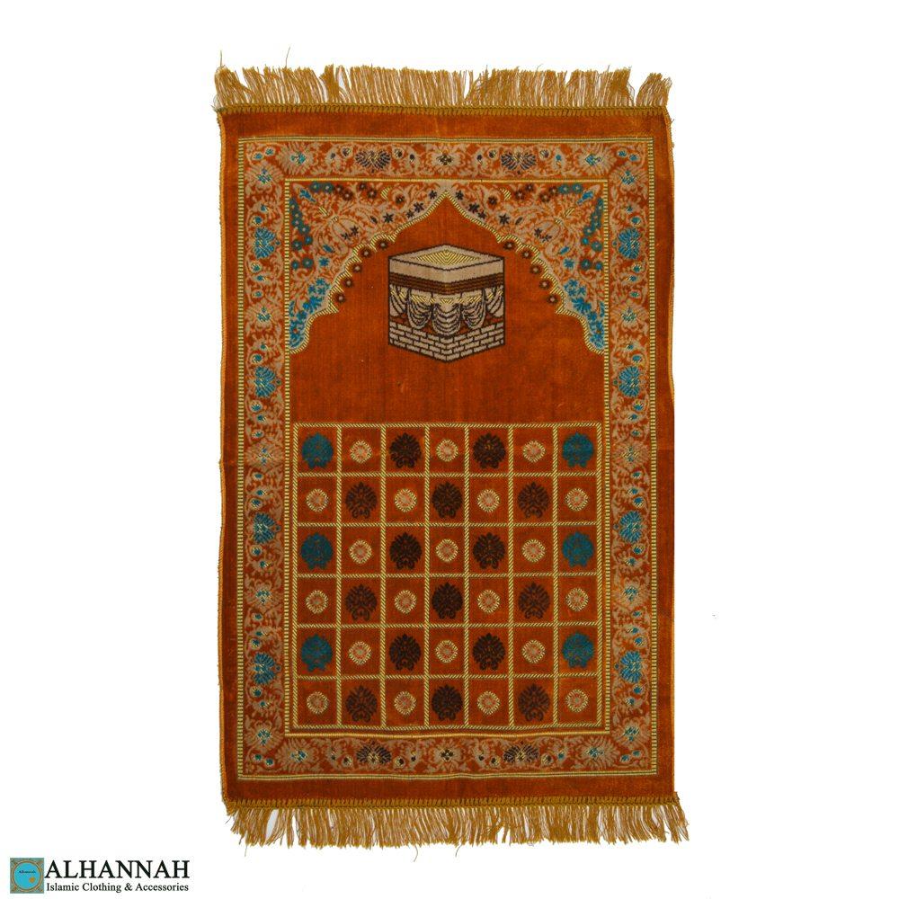 Turkish Prayer Rug Kaaba Motif Ii1110