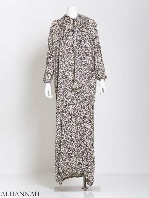 Prayer Outfit-1 Piece Leopard Print PS398 1 (2)