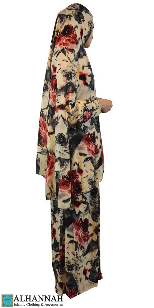 Prayer Outfit 2 piece floral