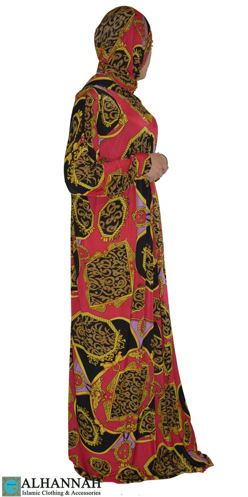 Prayer outfit one piece printed