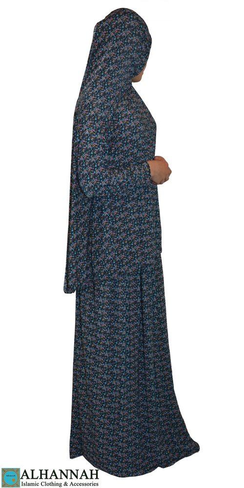 prayer outfit 2 piece floral print