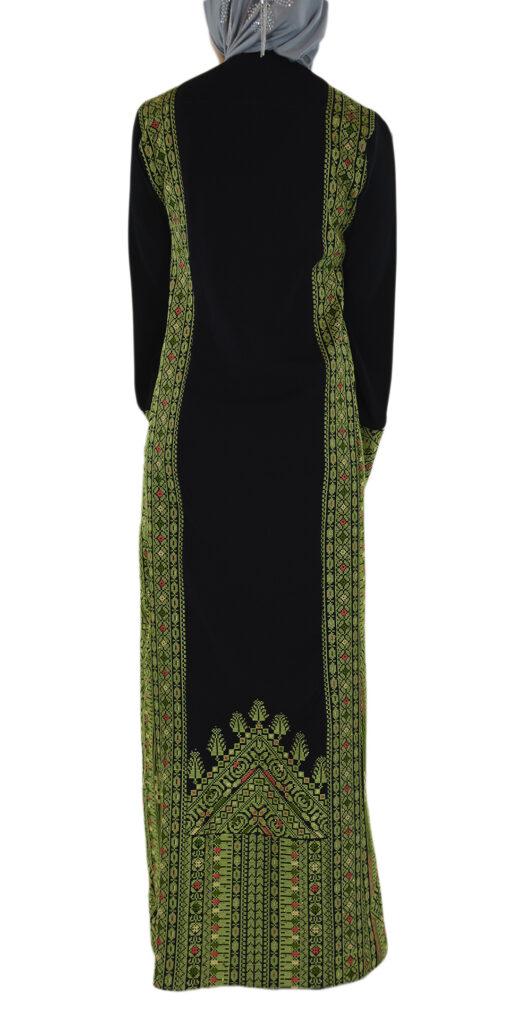 Emerald Falleh Dress Back Shot