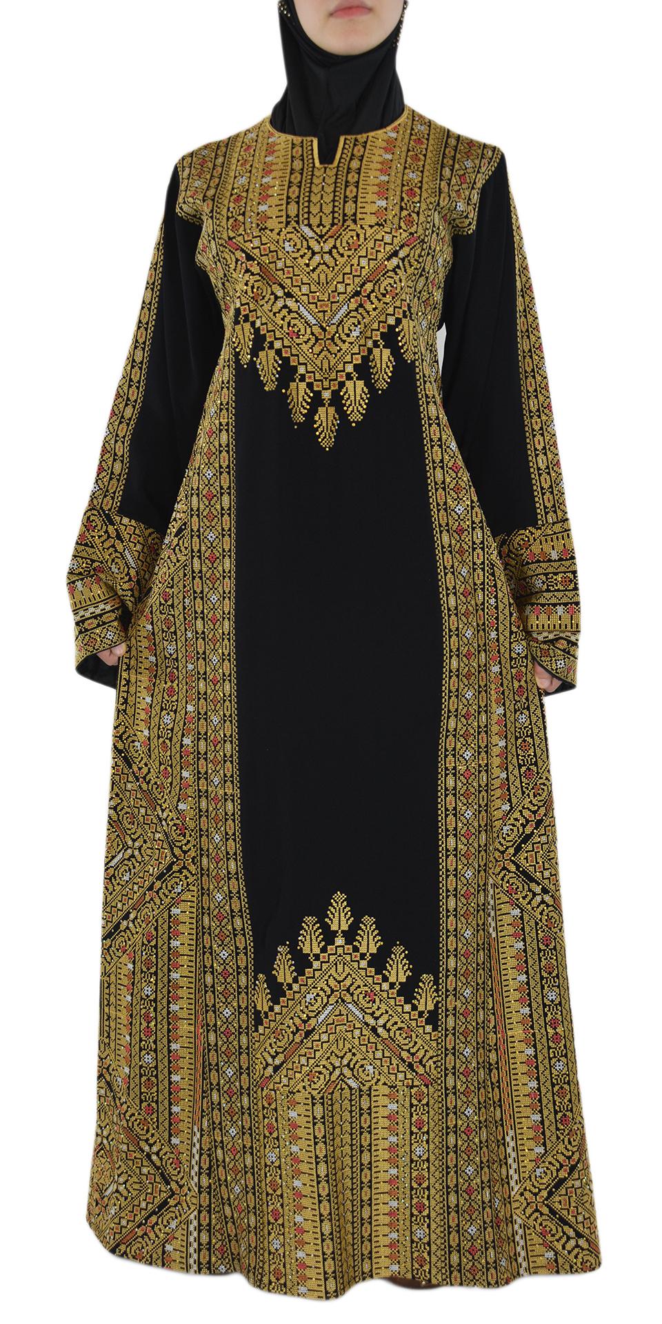 Golden Fallah Dress Front Spread