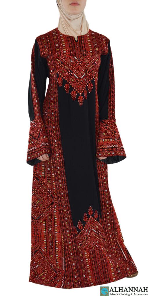Red Fellah Dress Front Shot