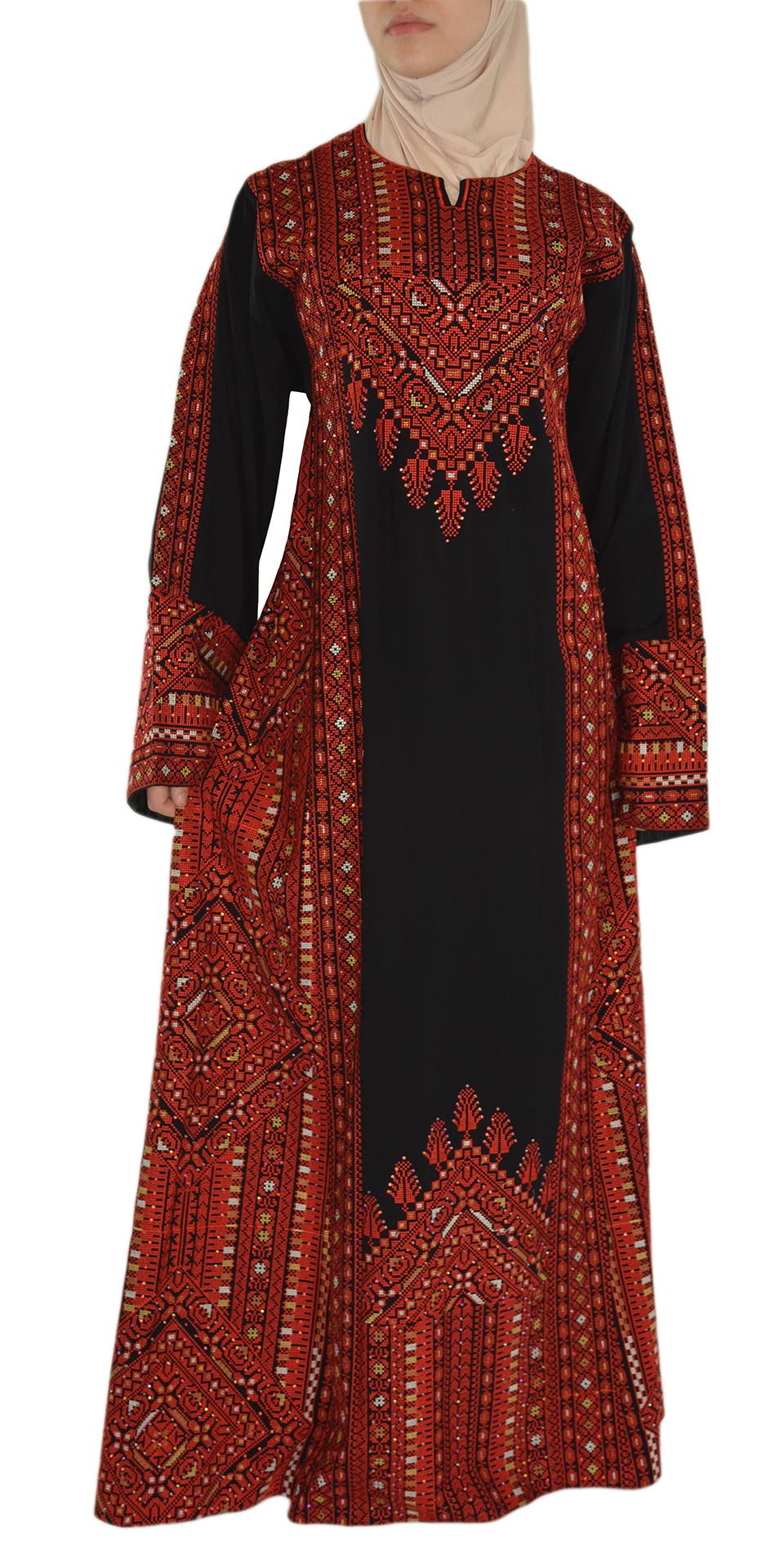 Red Fellah Dress Front Shot Spread