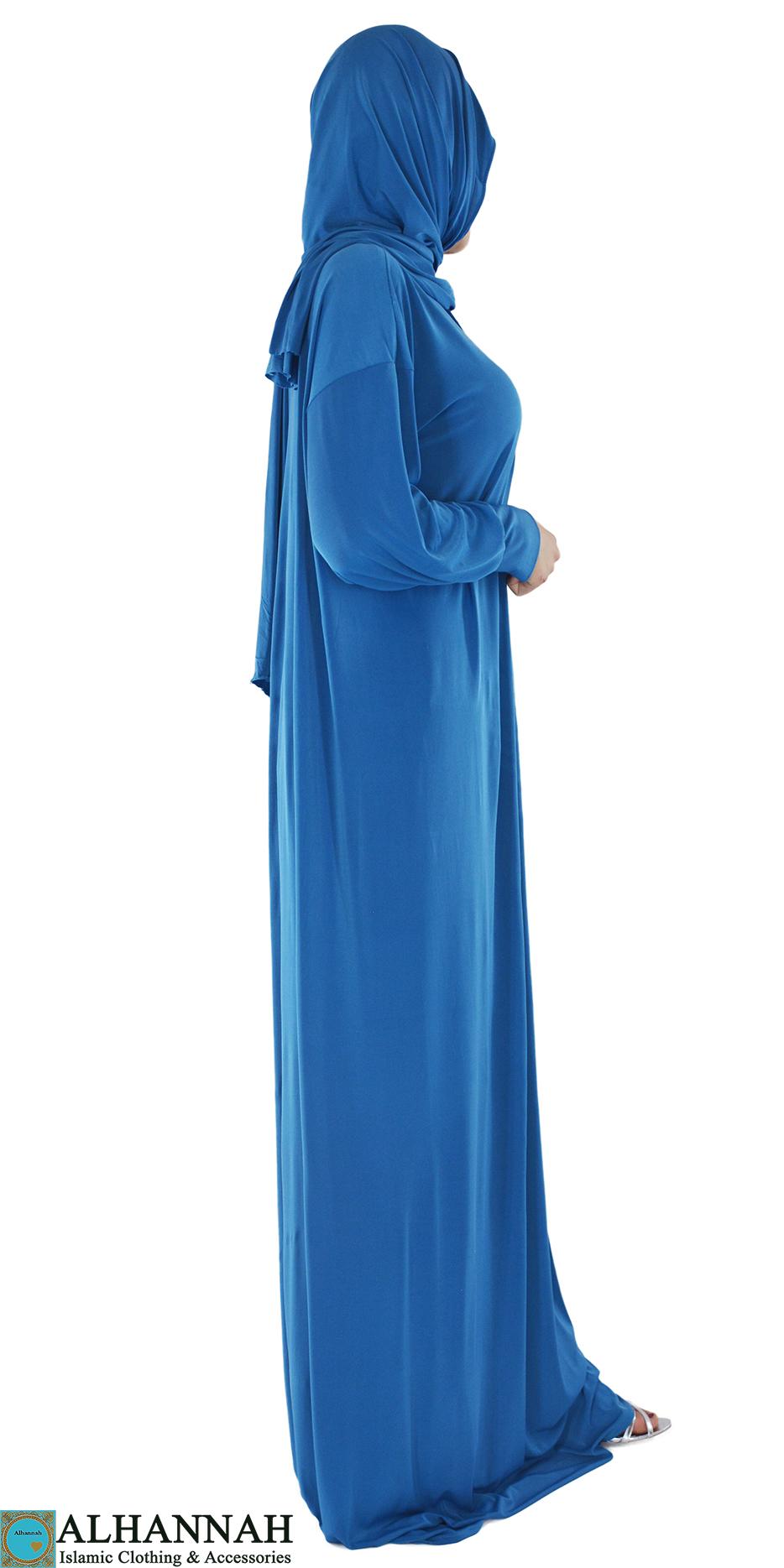 Solid Color Soft Lycra Baby Blue 3
