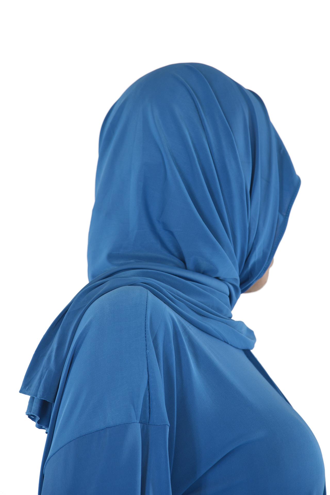 Solid Color Soft Lycra Baby Blue 2