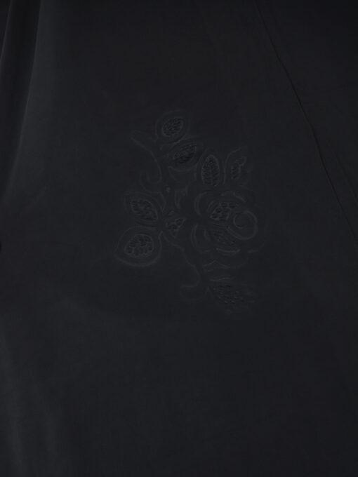 Black Rhinestone Floral-Imprint Al-Amira KhimarHijab HI2110 (12)