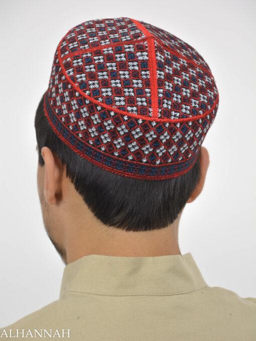 Checkered Taqiya Kufi ME741 (2)