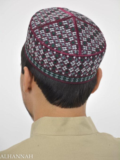Checkered Taqiya Kufi ME741 (3)