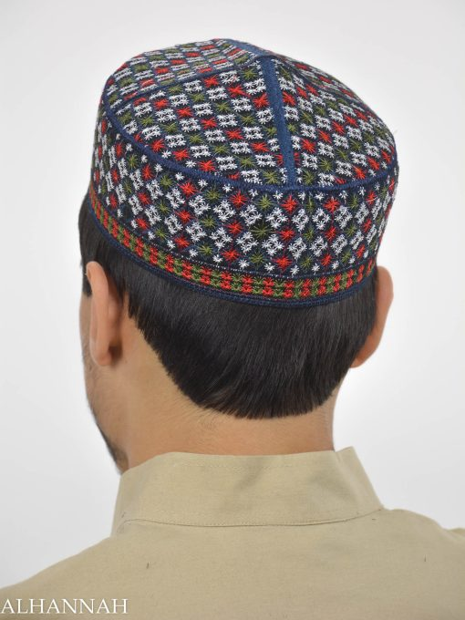Checkered Taqiya Kufi ME741 (4)