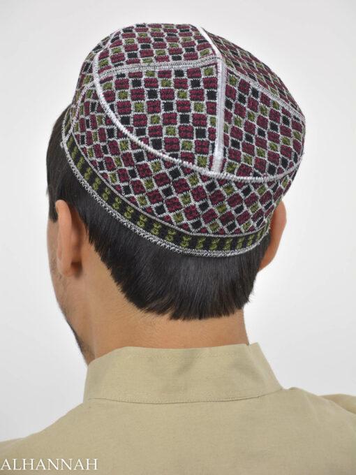 Checkered Taqiya Kufi ME741 (9)