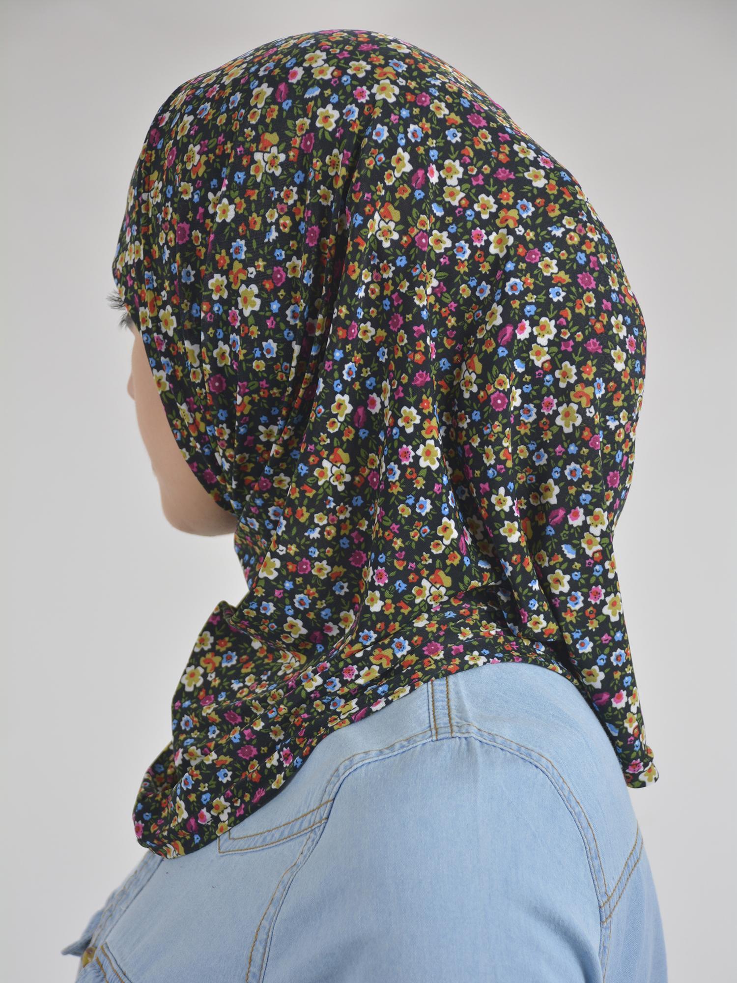 Floral Bloom Print Two Piece Al-Amira Hijab HI2109 (2)