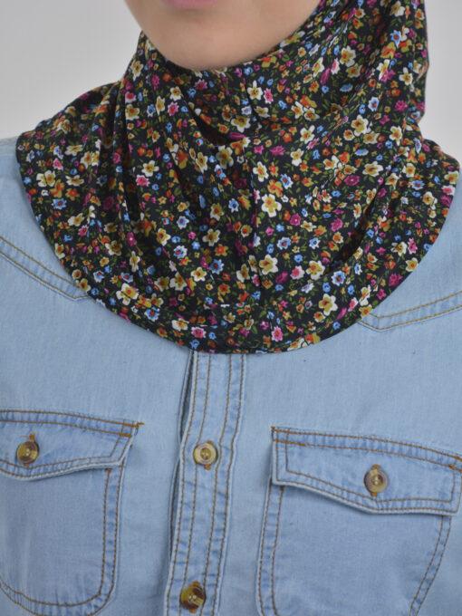 Floral Bloom Print Two Piece Al-Amira Hijab HI2109 (3)
