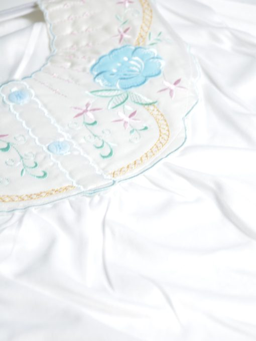 Floral Embroidered Cotton Nightgown NG100 (1)
