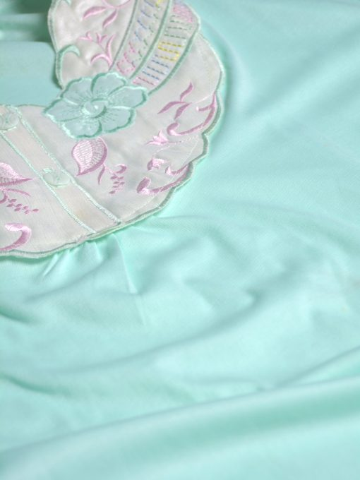 Floral Embroidered Cotton Nightgown NG100 (2)