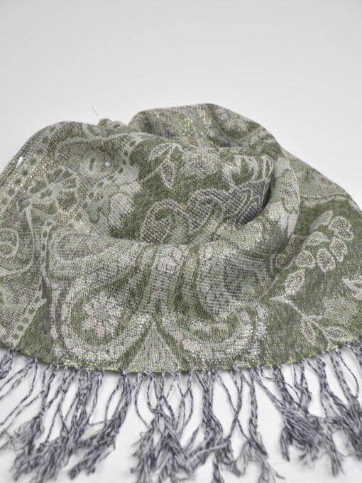 Floral Sparkle Weave Shayla Hijab HI2131 $14.99 (1)
