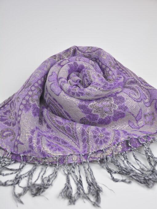 Floral Sparkle Weave Shayla Hijab HI2131 $14.99 (12)