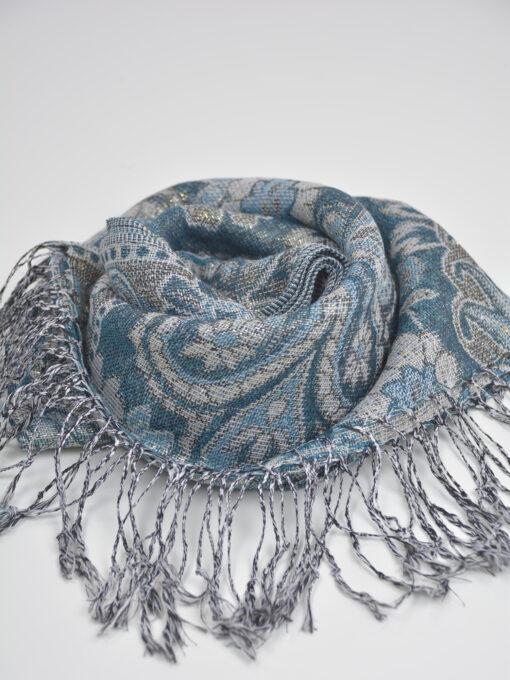 Floral Sparkle Weave Shayla Hijab HI2131 $14.99 (3)