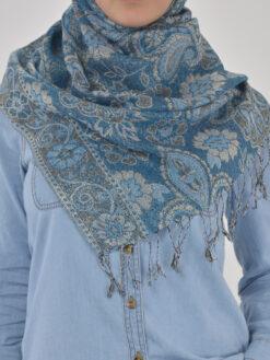 Floral Sparkle Weave Shayla Hijab HI2131 $14.99 (5)