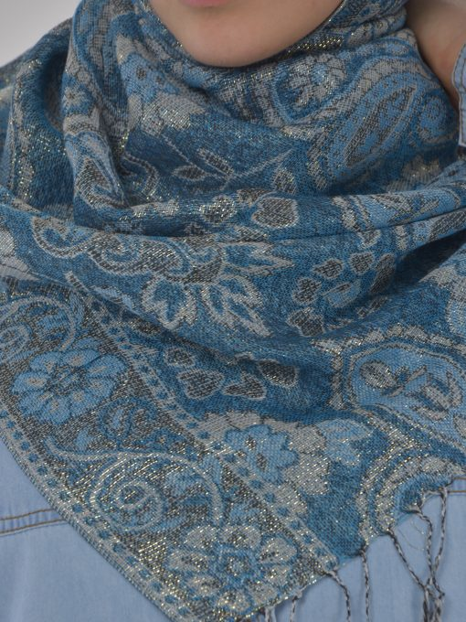 Floral Sparkle Weave Shayla Hijab HI2131 $14.99 (7)