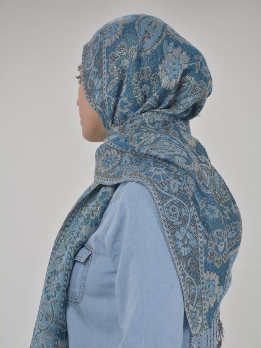 Floral Sparkle Weave Shayla Hijab HI2131 $14.99 (8)