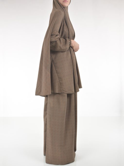 Moroccan Swirls Two Piece Prayer Outfit PS439 (2)