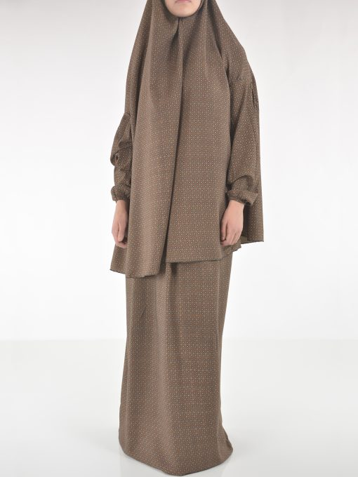 Moroccan Swirls Two Piece Prayer Outfit PS439 (3)