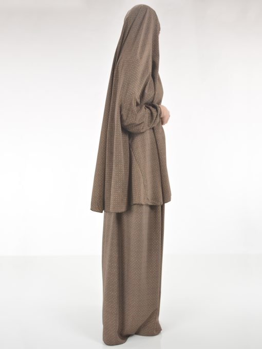Moroccan Swirls Two Piece Prayer Outfit PS439 (5)